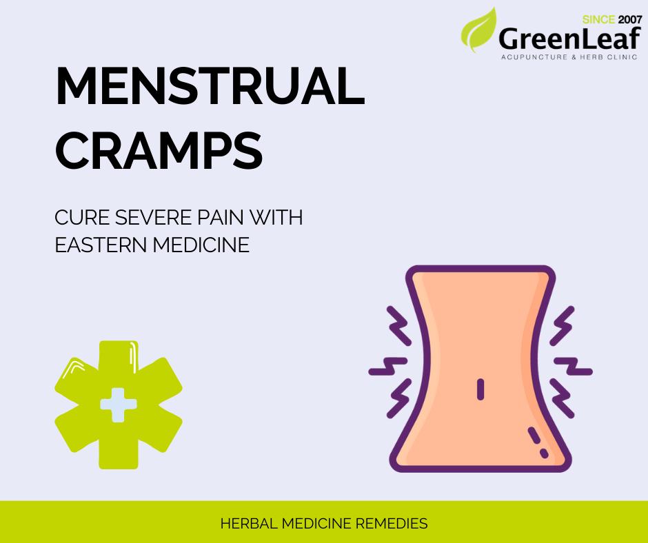 Greenleaf Clinic Menstrual Cramp Herbal Medicine Remedies