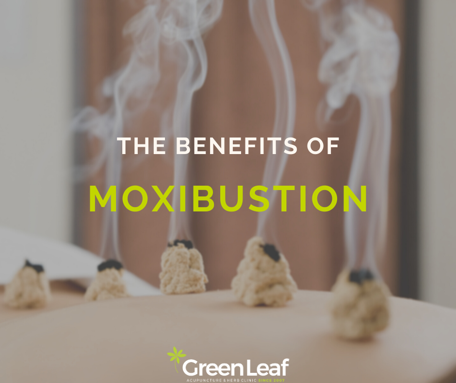 moxibustion, eastern medicine, tcm, traditional chinese medicine, greenleaf acupuncture and herb clinic